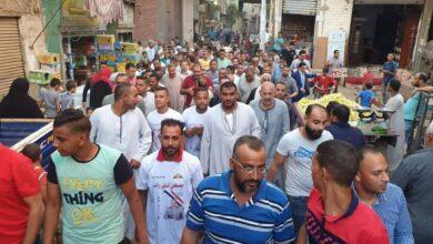 صورة مسيرة تأييد للحاج مصطفى راتب فى ملوى