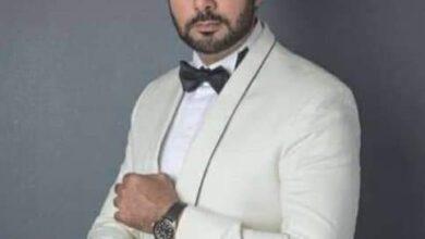 صورة ادعولي .. الفنان محمد كريم يتعرض لحادث مؤلم في كاليفورنيا