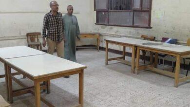 صورة الوحدة المحلية لقرية البرجاية تنتهي من تجهيز المقرات الإنتخابية لإستقبال الناخبين غدا