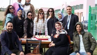 """صورة بعد مرور4سنوات.. بسمة إبراهيم وفريق العمل يحتفلان بعيد إنطلاق برنامج """" مع الناس """""""