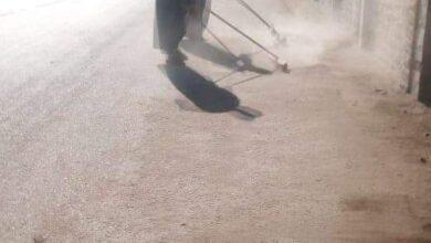 صورة نشاط مكثف لمجلس قروي البرجاية لضبط المخالفين وصيانة كشافات الإنارة بالمقرات الإنتخابية