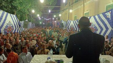 صورة هشام بشر يكشف «المستور» عن الإنتخابات في مؤتمر حاشد بحضور مئات المؤيدين