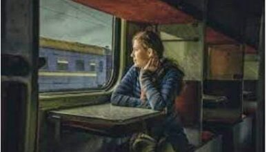 صورة في القطار