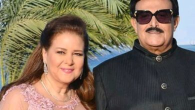 صورة بعد إصابتهما بفيروس كورونا رامي رضوان يطلب من الجمهور الدعاء لسمير غانم ودلال عبد العزيز