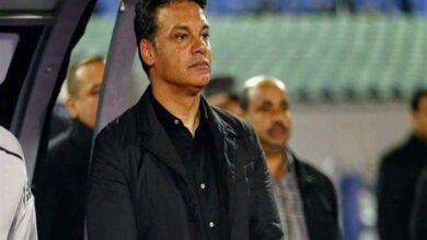 صورة غياب إيهاب جلال عن قيادة الاسماعيلى بسبب مرض ابنته