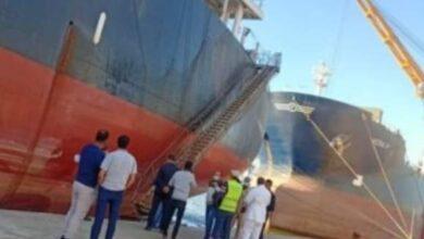 صورة نزاع قانوني بين شركتين حول تفريغ 6700 طن من الفول وحجز المحكمة الإقتصادية لسفينة بالإسكندرية
