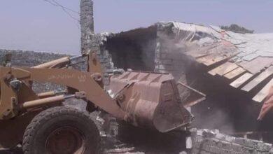 صورة حملة إزالات مكبرة بقرية طحا بسمالوط