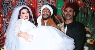 """صورة """"ده رزق وجالة """" هكذا كان تعليق سمية الخشاب علي مشاركة احمد سعد في مسلسل موسي"""
