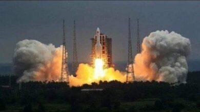 صورة الصاروخ الصيني يحلق في سماء اسيوط مركز ديروط