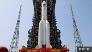 صورة مفاجأة.. أخر تحركات الصاروخ الصيني