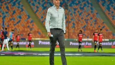 صورة كارتيرون يصرح : أحترم عقوبة إتحاد الكرة المصري