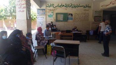 صورة وزارة الصحة والقومي للمراة بالمنيا ينظمون حملة لتلقيح اصحاب الامراض المزمنة والمسنين بابويعقوب