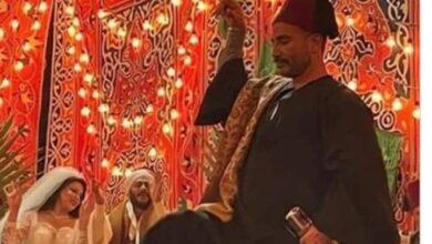 صورة ظهور أحمد سعد في فرح زوجته السابقة وموسي يتصدر الترند