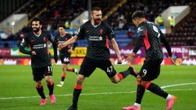 صورة «ليفربول» يتفوق على بيرنلي بثلاثية ويحافظ على حظوظه في التأهل لدوري الأبطال