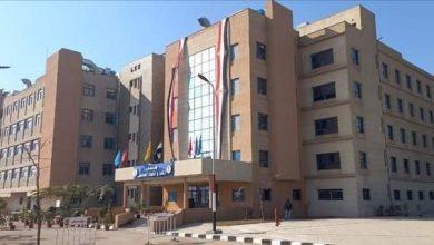 صورة انشاء مركز للتطعيم ضد فيروس كورونا المستجد بمستشفيات المنيا الجامعية