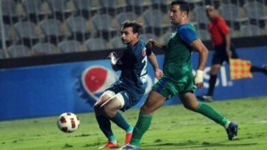 صورة ما بين السعى والطموح يلققى انبى مصر المقاصة اليكم تشكيل الفريقين