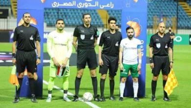 صورة لقطة تحكيمية جدلية تحسم تعادل المصري مع المقاصة