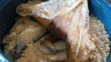 صورة ضبط وإعدام 6 أطنان أغذية متنوعة وأسماك مملحة ومدخنة