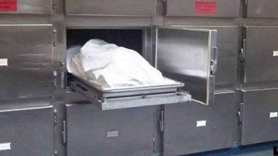 صورة العثور على جثة سيدة مجهولة الهوية بطريق القاهرة أسيوط الغربى