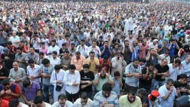 صورة وزير الأوقاف : منع إقامة صلاة العيد في الساحات