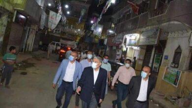صورة محافظ المنيا يواصل جولاته الميدانية لمتابعة الالتزام بمواعيد الغلق الجديدة