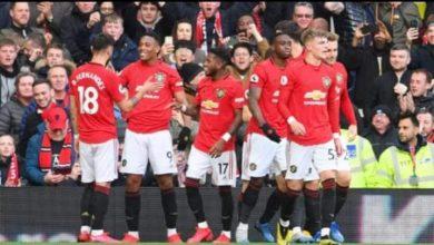 صورة تشكيل كلاً من مانشستر يونايتد وفولهام لموقعة اليوم