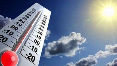 صورة درجات الحرارة أول أيام العيد.. الأرصاد تعلن طقس الخميس