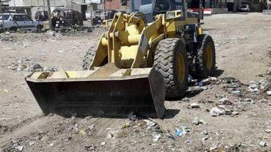 صورة ثالث أيام العيد.. رفع 55 طن قمامة من مداخل قريتين مركزيتين في المنيا