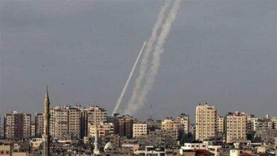 صورة الفصائل الفلسطينية بغزة تطلق 150 صاروخ باتجاه الأراضي المحتلة