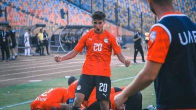 """صورة منتخب مصر للشباب يفوز على الجزائر (1/0) ويتأهل إلى دور الثمانية من """"كأس العرب للشباب تحت 20 سنة 2021"""""""