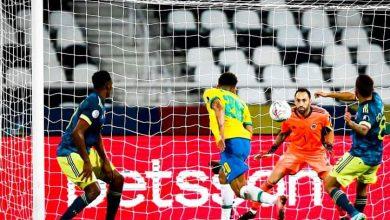 صورة كوبا امريكا .. «البرازيل» تخطف فوزا قاتلا أمام «كولومبيا» في مباراة مثيرة للجدل تحكيميا