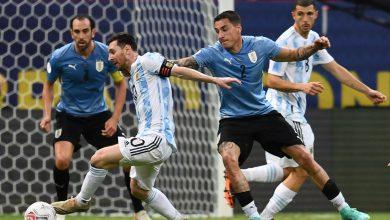 صورة «الأرجنتين» يحقق فوزه الأول بكوبا أمريكا على حساب «الاورجواي»