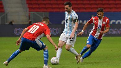 صورة بأداء باهت ..«الأرجنتين» تفوز على «باراجواي» و تتأهل رسميا لربع نهائي كوبا أمريكا