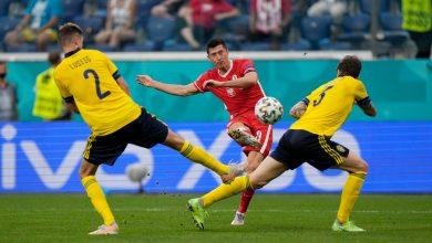 صورة روائع ليفاندوفسكي لا تكفي ..«السويد» يتأهل لثمن النهائي و يطرد «بولندا» خارج اليورو