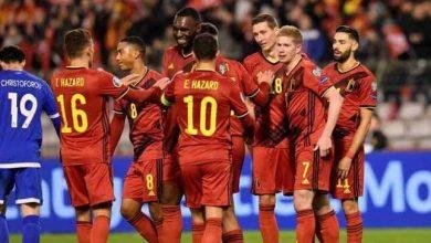 """صورة بلجيكا تقلب الطاولة على الدنمارك وتفوز بهدفين مقابل هدف في """"يورو 2020"""""""