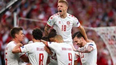 صورة الدنمارك يصدر الذعر للمنافسين برباعية في مرمى روسيا بكأس الأمم الأوربية