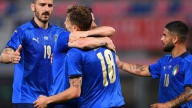 صورة إيطاليا تكتسح التشيك بأربعة اهداف نظيفة وديا