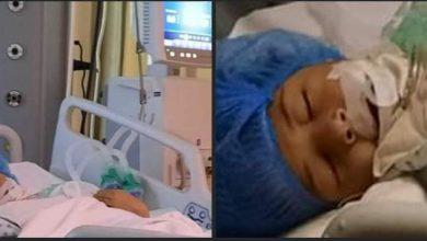 صورة الطفلة مريم ضحية سائق طائش دهسها بسيارته وهرب تاركها تصارع الموت هي وصاحبتها ووالدة صاحبتها