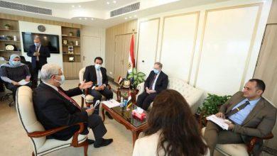 صورة التعليم العالي يتلقى تقريرًا حول اجتماع مسئولي وزارتي التعليم العالي والبحث العلمي المصرية والعراقية