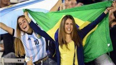 صورة مواجهة نارية بين الأرجنتين والبرازيل في نهائي كأس كوبا أمريكا