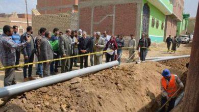 صورة قريباً.. حل مشكلة ضعف المياه بمناطق حي غرب بالمنيا