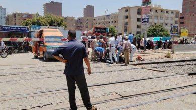 صورة عاجل وبالاسم.. مصرع شخص في حادث قطار ببني مزار بالمنيا