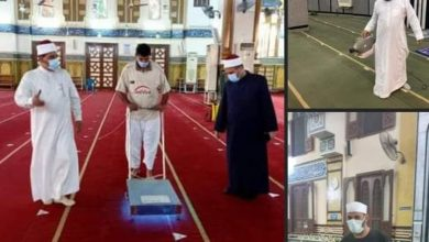 صورة استعدادا لصلاة عيد الأضحى المبارك حملات مكثفة لتطهير وتعقيم المساجد بالدقهلية