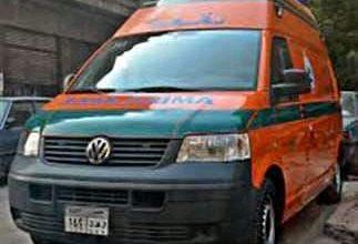 صورة وقوع حادث بشع علي الطريق الزراعي جنوب المنيا