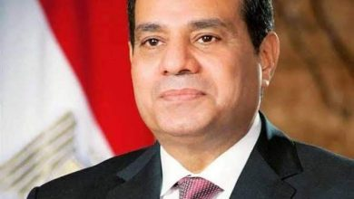 صورة الرئيس السيسي يهنئ الشعب المصري والأمة الإسلامية بعيد الأضحى المبارك