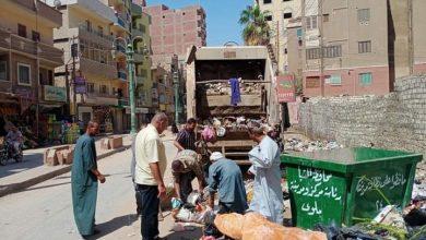صورة السايس يتابع حملات النظافة بشوارع المدينة