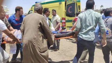 صورة إصابة 9 أشخاص في انقلاب سيارتين بالساحل الشمالي