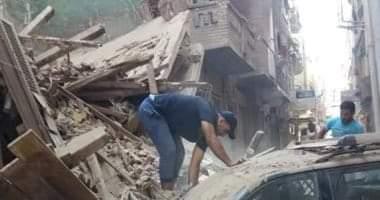 صورة تفاصيل جديدة بشأن انهيار منزل بالوراق
