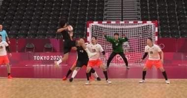 صورة يد مصر فى المركز الثالث بعد الفوز على اليابان بالأولمبياد