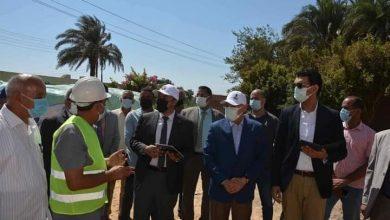 """صورة محافظ المنيا يتابع تنفيذ المبادرة الرئاسيه """"حياة كريمة"""" بقري مركز أبو قرقاص"""